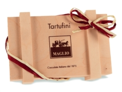 TRUFFLES WOODEN BOX 200g []